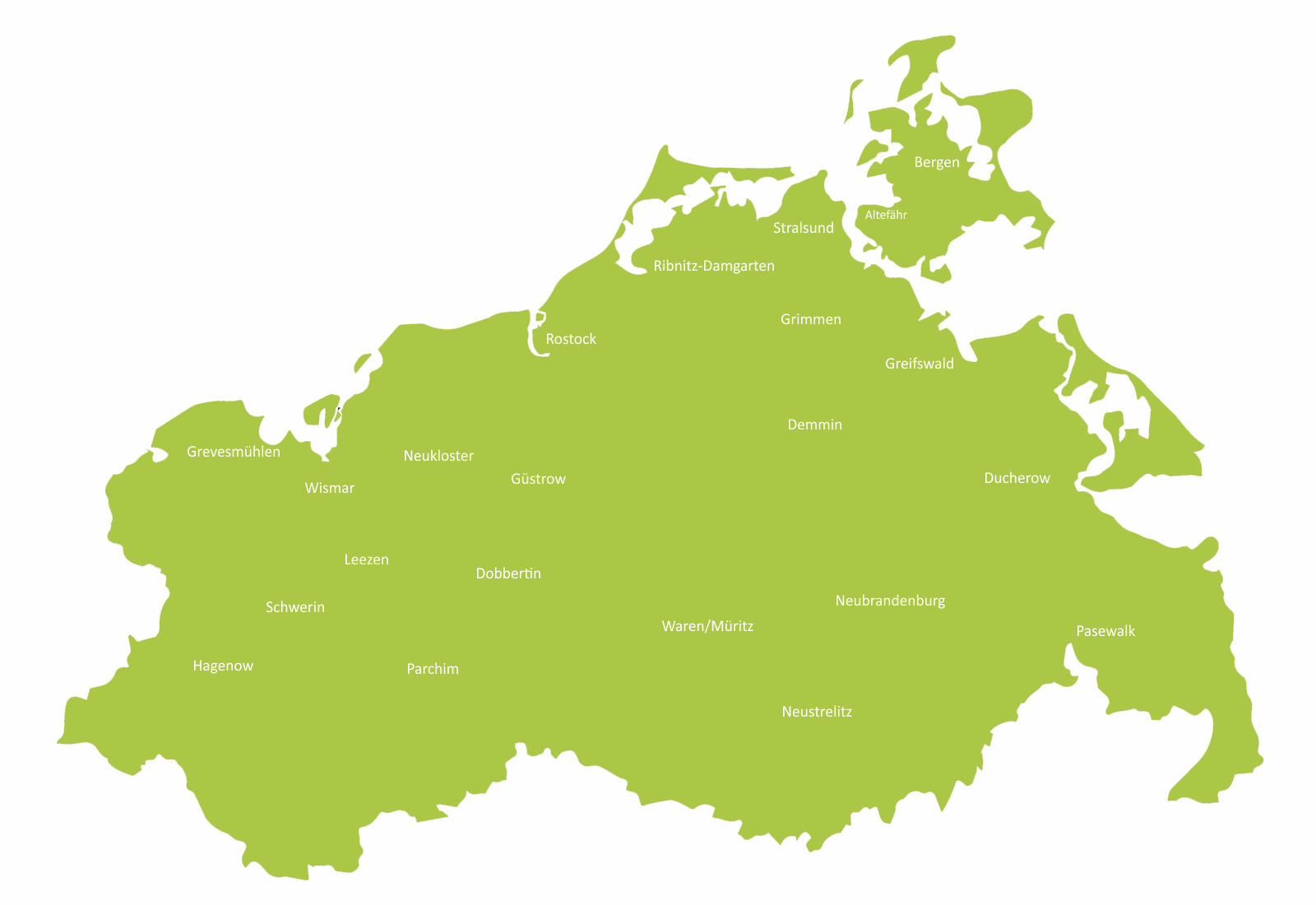 Die Werkstätten der LAG Wfbm in Mecklenburg-Vorpommern